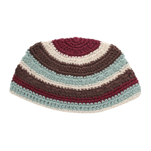 Frik Kippah 24cm- Colorful Stripes