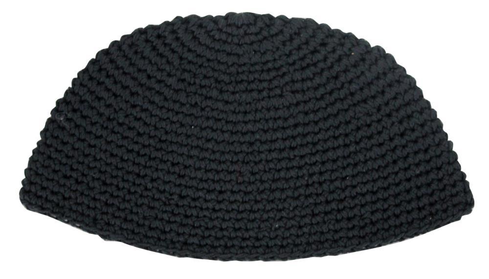Frik Kippah 21cm- Plain Black