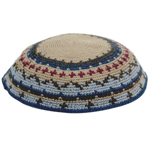 D.m.c Kippah 18cm- Multicoloured Design