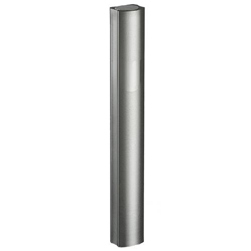 Aluminium Mezuzah 12cm- Dotted Design In Gray