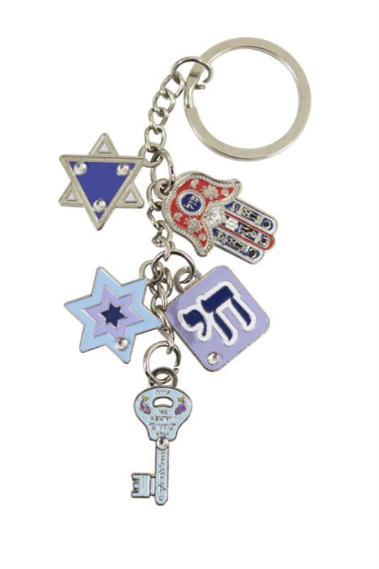Keychain- Five Amulets 11cm