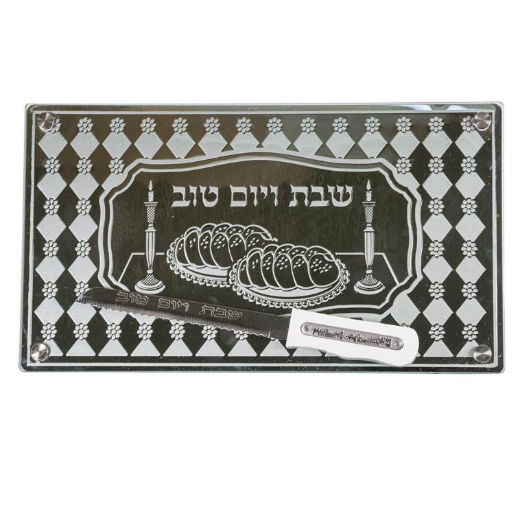White Challah Board 44*25 Cm