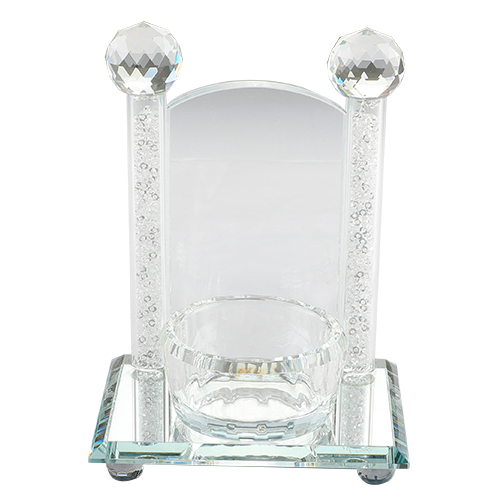 Crystal Holder For Memory Candle 17x12 Cm