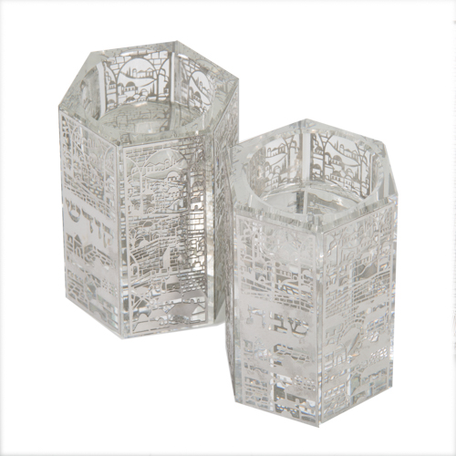 Crystal Candlesticks 7.5*6 Cm