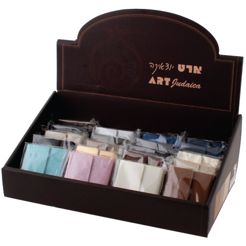 Full Stand Leather Bound Tehillim - Assorted Colors (28) -large