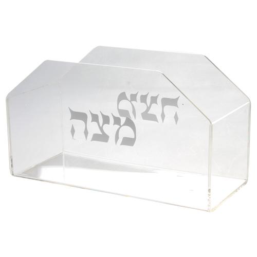 Plexiglass Stand For Matzah 22x12cm