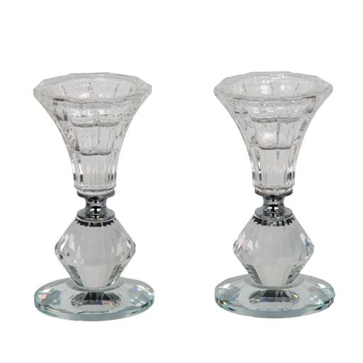 Crystal Candlesticks 11 Cm