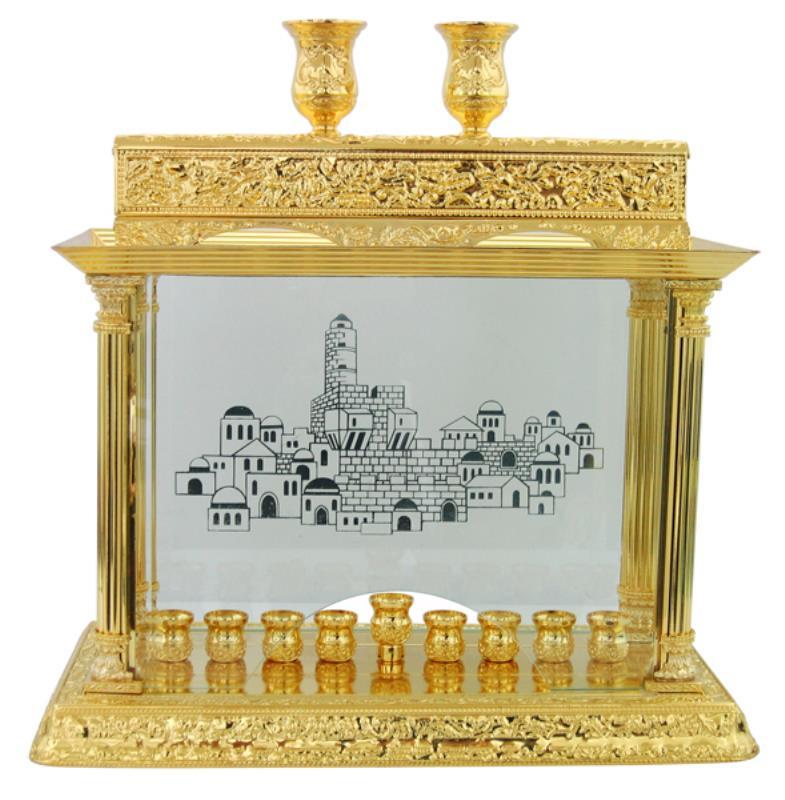 Menorah Deluxe Temple Series 26*40cm