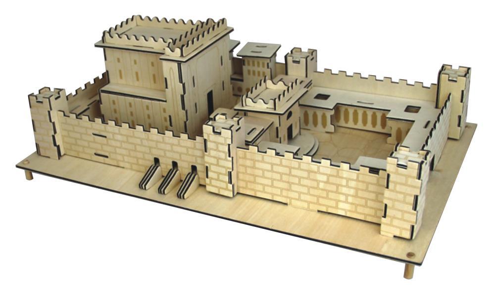 3d Puzzle 37*23*12cm- The Temple