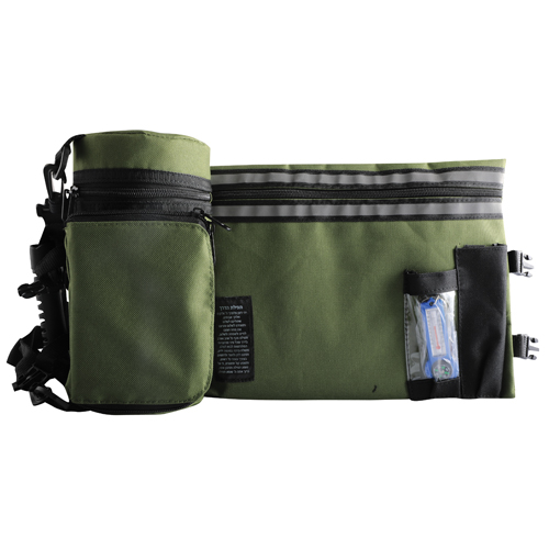 Olive Green Tefillin Container Tik-taf 23cm.