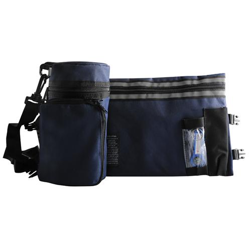 Pl**d. Blue Tefillin Container Tik-taf 23cm
