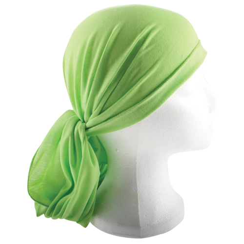 Cloth Head Scarf  200*40 Cm- Green