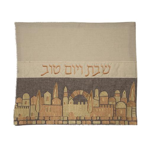 Linen Challah Cover 42x52 Cm