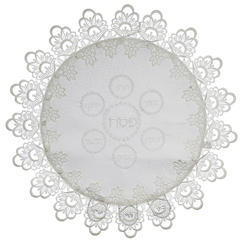 Brockett Passover Cover 42*52cm With Lace Decoration