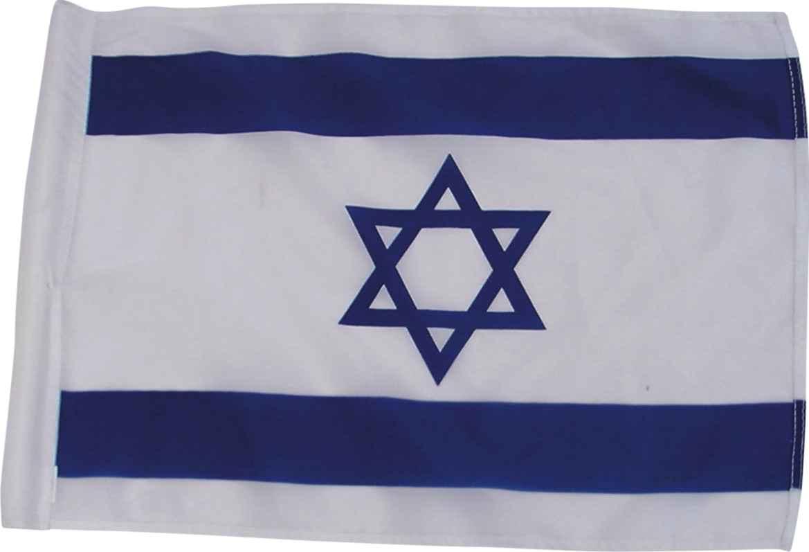 "Israeli Flag 220*150 Cm (86"" X 59"")"