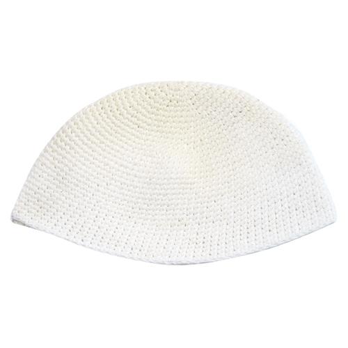 Frik Kippah 21 Cm- Sheer White