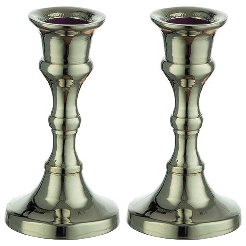 Nickel Candlestick 8 Cm