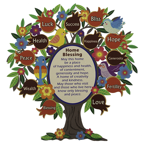 Tree Of Blessings 30 Cm- English Home Blessing