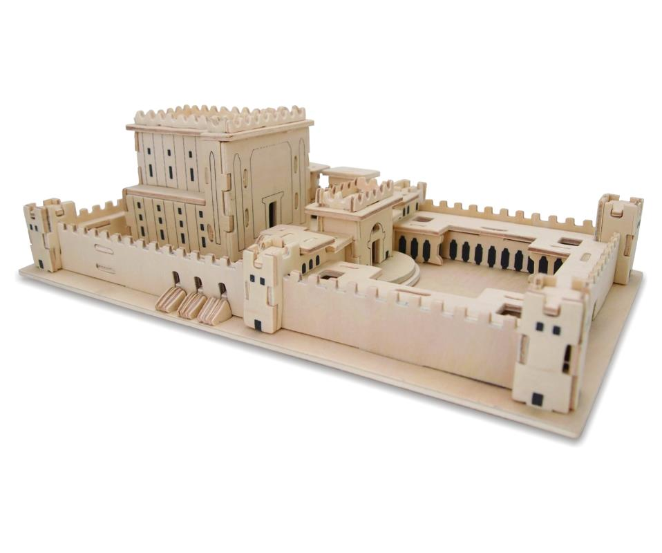 Jerusalem Second Temple 3d Puzzle 26*15*10 Cm