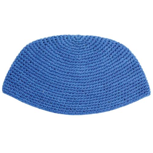 Frik Kippah 21cm- Plain Blue