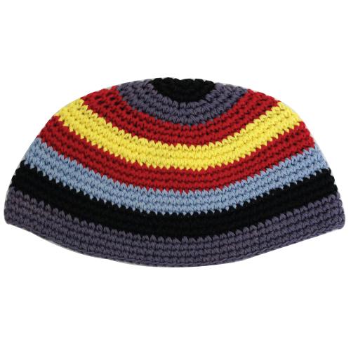 Frik Kippah 21cm- Multicolored Stripes