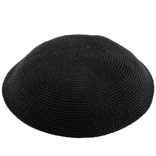 D.m.c Dense Knitting Kippah 16 Cm- Black