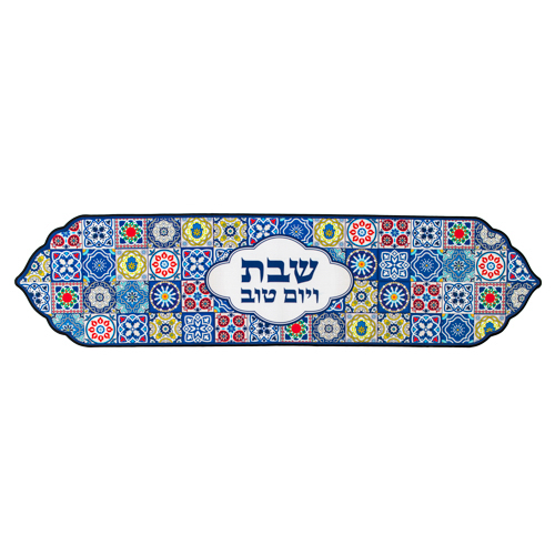 Thermal Insulation Runner For Tablecloth 30x119 Cm- Colorful Mosaic Design -special Design