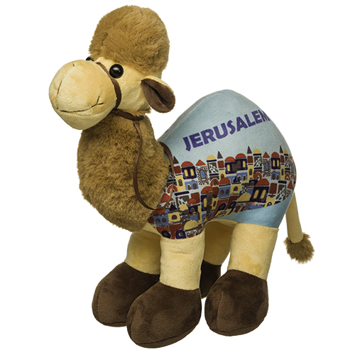 Cloth Camel Doll 25 Cm - Jerusalem