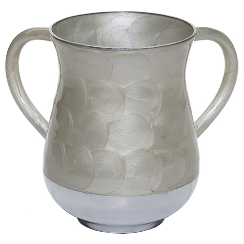 Aluminium Washing Cup 13 Cm - Off-white