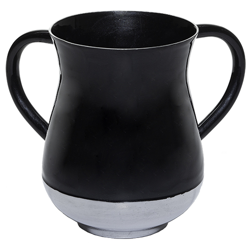 Aluminium Washing Cup 13 Cm - Black