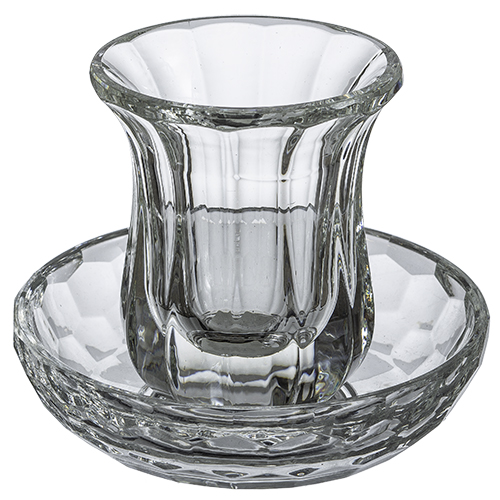 Crystal Kiddush Cup 9 Cm- Without Stem