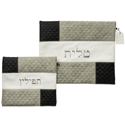 Leather Like Talit & Tefilin Set 36*33 Cm