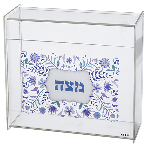 Plexiglass Clear Stand For Matzah 23*21 Cm