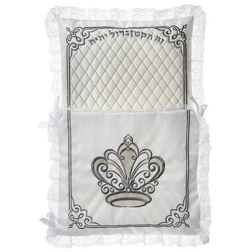Satin Bris Pillow 70 cm- Crown