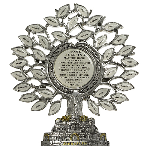 Polyresin Tree Of Blessings 17*16 Cm- English Home Blessing