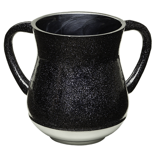 Aluminum Washing Cup 13 Cm - Black